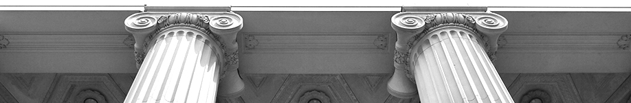 Courthouse columns